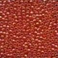 00165 Xmas Red Glass Seed Beads