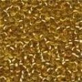 02011 Victorian Gold Glass Seed Beads