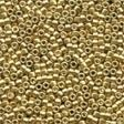 10076 Gold Magnifica Glass Seed Beads