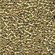 10091 Gold Nugget Magnifica Glass Seed Beads