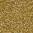 42011 Victorian Gold Glass Petite Seed Beads