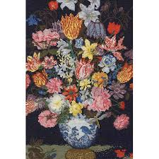 DMC Bosschaert A Still Life of Flowers cross stitch kit