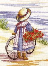 Faye Whittaker Flowers For Home cross stitch kit