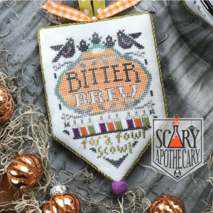 Hands on Design Bitter Brew Scary Apothecary Series cross stitch chart