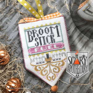 Hands on Design Broom Stick  Scary Apothecary Series cross stitch chart