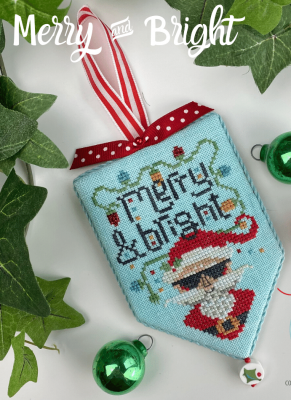 Hands on Design Merry and Bright - Secret Santa Series cross stitch chart