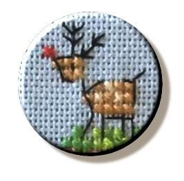 Christmas Reindeer Needle Minder