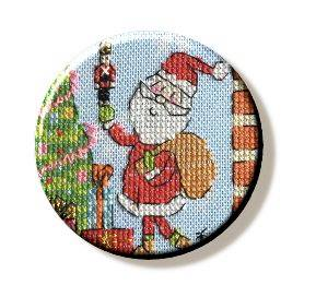 Christmas Santa Needle Minder