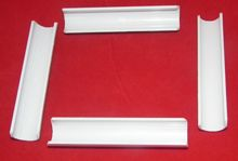 "R&R Set of 4 replacement clips for 11"" x 11"" plastic snap frame"