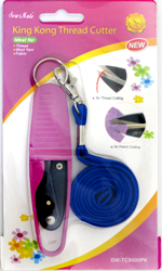 Thread Cutter with Cover and Lanyard