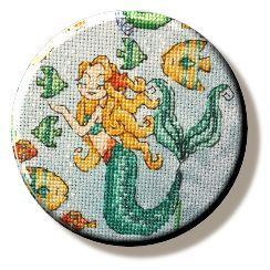Under the Sea Mermaid Needle Minder